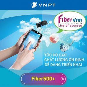Gói cước VNPT doanh nghiệp - Fiber tốc độ cao lên đến 500Mbps
