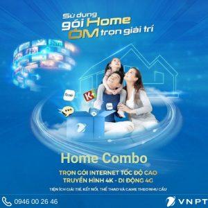 Gói Home Combo - Internet Truyền hình Di động giá chỉ từ 215K/tháng