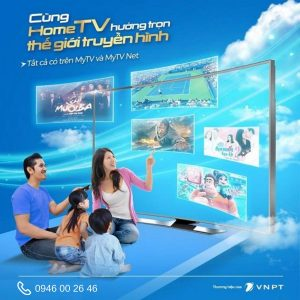 Gói Home Tv - Combo Internet truyền hình VNPT giá chỉ từ 156K/tháng
